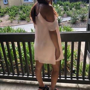 Cute off the shoulder dress